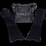 Ladies Vintage Black Accessories - Red Tag Sale Item