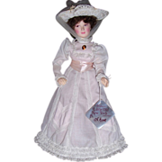 "1985 Effanbee 17"" Madison Park Doll, Little Old New York Collection"