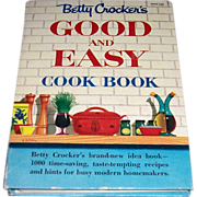 1954 Betty Crocker's Good and Easy Cook Book