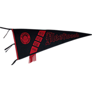 1936 Fleetwood High School Felt Pennant by The Union Emblem Co.
