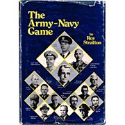 1977 The Army-Navy Game Book by Roy Stratton, First Edition