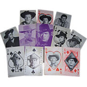 1940's and 1950's Western Movie & TV Star Penny Arcade Cards