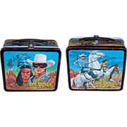 1980 The Legend of The Lone Ranger Metal Lunchbox