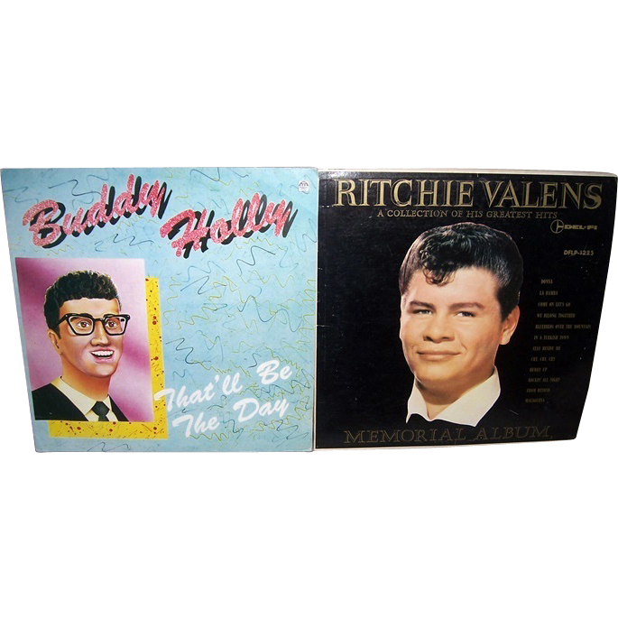 Ritchie Valens Memorial Album & Buddy Holly Russian Album