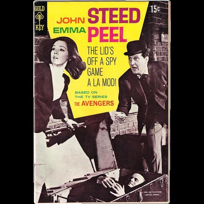 1968 TV Show The Avengers Comic Book, No. 1