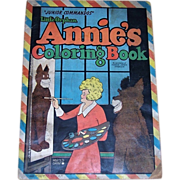 1943 Little Orphan Annie's Junior Commandos Coloring Book, Saalfield No. 2437