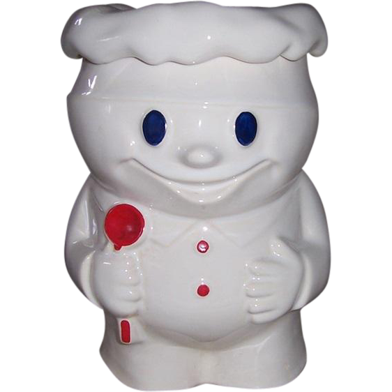 1960's McCoy Pillsbury (Bobby Baker) Doughboy Cookie Jar~Free Standard Shipping!