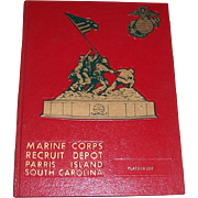 1976 Marine Corps Recruit Depot Parris Island Platoon 296 Yearbook