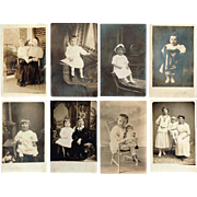 1900's Real Photo Postcards of Children