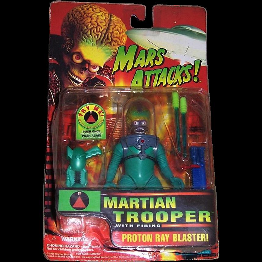 Mars Attacks Martian Trooper Action Figure