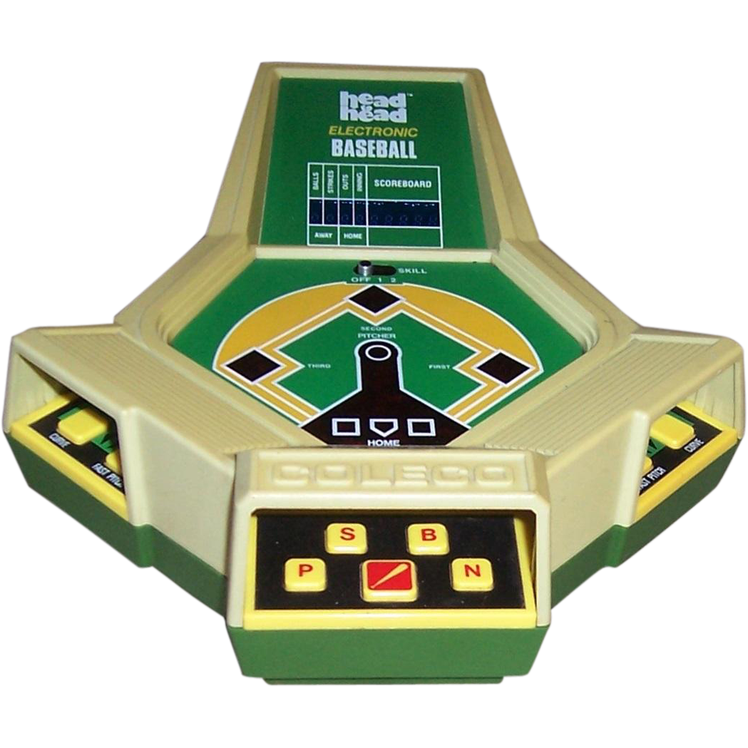 1980 Coleco Head To Head Electronic Baseball Game