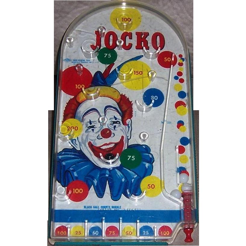 Vintage Jocko Marble Game by Wolverine Toys