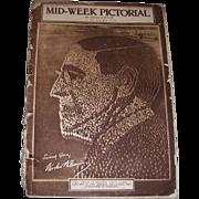 Eight WWI Era 1918/1919 Mid-Week Pictorial Newspapers