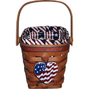 1995 Longaberger All-American Series Basket