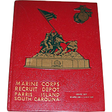 1986 Marine Corps Recruit Depot Camp Yearbook, Series 1052, Parris Island, SC