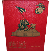 1984 Marine Corps Parris Island Camp Yearbook Series 2084-2087