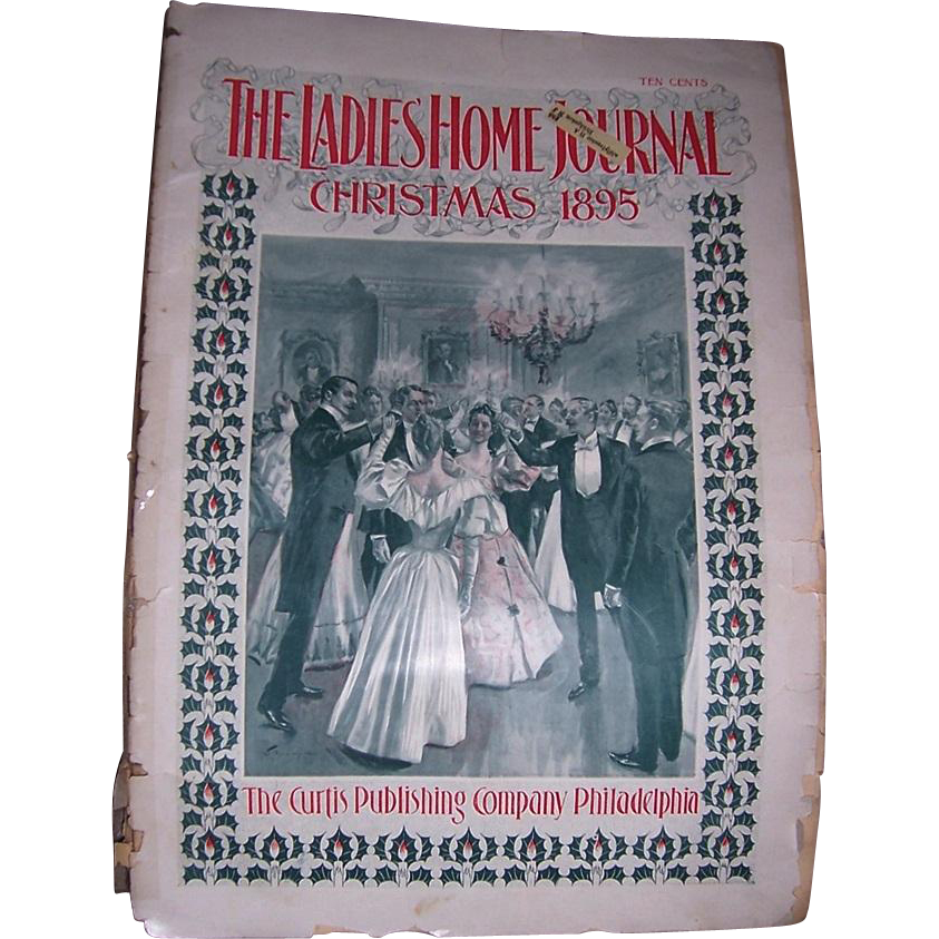 1895 The Ladies Home Journal December Christmas Issue