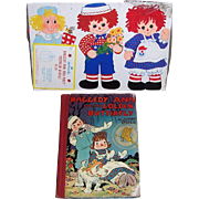 1940 Raggedy Ann and the Golden Butterfly Book by Johnny Gruelle