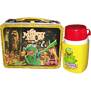 1978 The Muppet Show Metal Lunchbox & Thermos by King-Seeley Thermos Co.