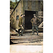 1909 Mauch Chunk, Pa., Coal Mine Postcard