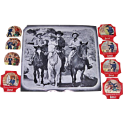 1950's Hopalong Cassidy Series 1, 2, and 3 Bread Labels
