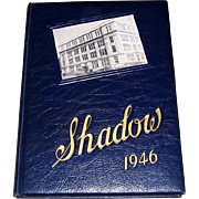 1946 Shadow Rider College Yearbook, Post WWII