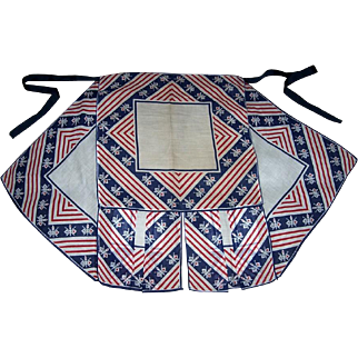 WWII Patriotic Homemade Apron