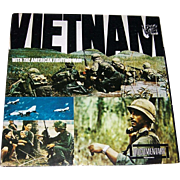1966 Vietnam! With The American Fighting Man! Record Album by Documentary Recordings