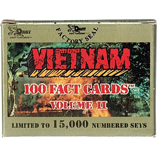 1991 Vietnam 100 Fact Cards, Volume II, Mint in Box