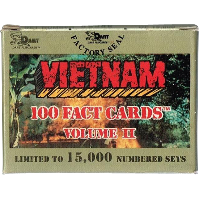 1991 Vietnam 100 Fact Cards, Volume II, Mint in Box