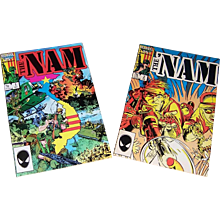 The 'NAM Comic Books dated 1986, No. 1, and 1987, No. 2