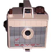 1950's Savoy Camera III, Tan