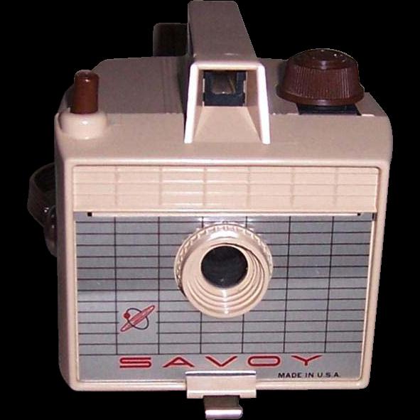 1950's Savoy Camera III, Tan