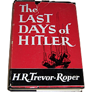 1947 1st Edition of The Last Days of Hitler by H. R. Trevor-Roper