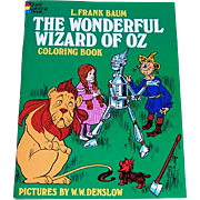 1974 The Wonderful Wizard of Oz Coloring Book