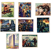 1950 Wild Man Picture Cards by Bowman Gum Inc.