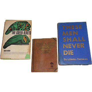 Historical WWI, WWII, and Vietnam Era Books