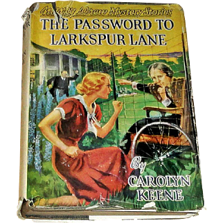 1954 Nancy Drew The Password to Larkspur Lane