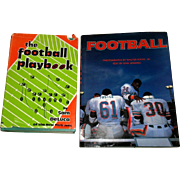 1974 The Football Playbook & 1986 Football Book