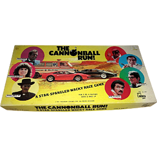 1981 The Cannonball Run Board Game