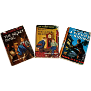 Three 1950's/1960's Hardy Boys Mystery Novels