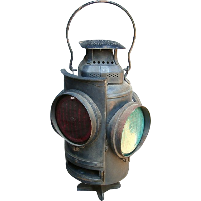 Pictures of old railroad lanterns