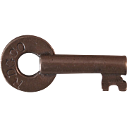 Vintage RDGCO Reading Railroad Brass Switch Key