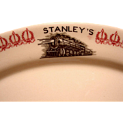 Stanley's Texas & Pacific Railroad Restaurant Platter