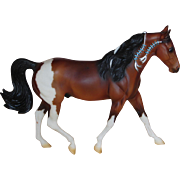 Vintage Scarce Breyer Model Horse Missouri Fox Trotter 2005 Traditional Bay Pinto