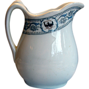 New York Central Railroad DeWitt Clinton China Milk Pitcher