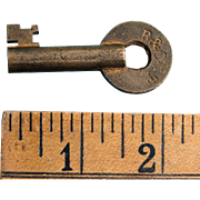 B&ORT Baltimore & Ohio Railroad REPAIR TRACK Brass Switch Key