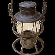 Chicago, Milwaukee & St. Paul Railroad CM&StP Adlake Reliable Lantern