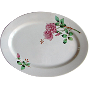 Vintage Union Pacific Railroad China Portland Rose Platter UPRR