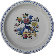 "Vintage Nearest Mint Milwaukee ""Peacock"" Railroad China Salad Plate"